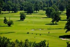 Golf course Hluboka nad Vltavou Stock Images