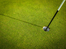 Golf Course Hole Royalty Free Stock Photography