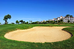 Golf course, Huelva, Andalusia, Spain Royalty Free Stock Photography