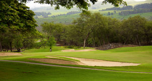 Golf course in Kihei Maui Stock Image