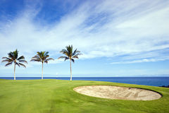 Golf Course, Kona, HI Stock Photography