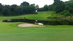 Golf  course at Lam Chabang ,Pattaya Stock Photo