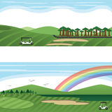 Golf Course Landscape Royalty Free Stock Photo