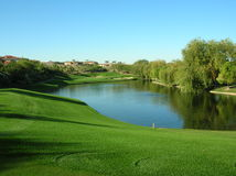 Golf Course in Las Vegas area Stock Photography