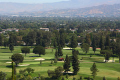 Golf course in los angeles Stock Photo