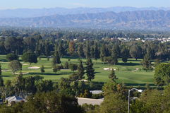 Golf Course in Los Angels. USA Stock Photos