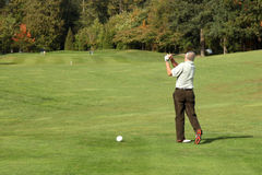 Golf Course - Luxury International Standard Royalty Free Stock Images