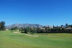 Golf Course Mountain Royalty Free Stock Photo