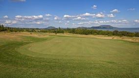 Golf course near Lake Balaton in Hungary.  Stock Photos