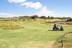 Golf course in Portugal Stock Image