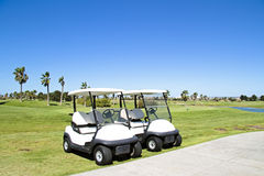 Golf course in Portugal. Golf course in the Algarve Portugal Stock Photography
