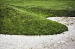 Golf course. Royalty Free Stock Photography