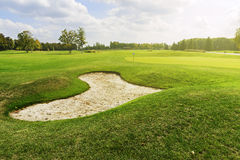 Golf course Royalty Free Stock Images