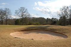 Golf Course Sand Trap Royalty Free Stock Photo