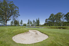 Golf Course Sand Trap 2 Stock Photos