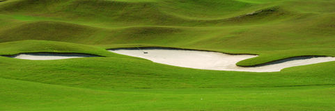 Free Golf Course Sand Trap Royalty Free Stock Photography - 6702037