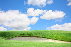 Golf Course Sand Trap Royalty Free Stock Photography