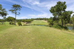 Golf course on south of Portugal Royalty Free Stock Photo