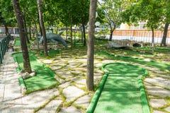 Golf course in Sunny Beach in Bulgaria Royalty Free Stock Photos