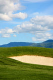 Golf Course Sunny Day Royalty Free Stock Image