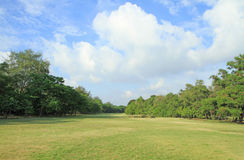 Golf course in Thailand Stock Photo