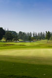 Golf course in thailand. Landscape of golf course in thailand Stock Photography