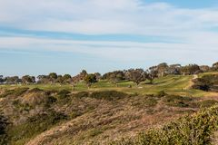 Golf Course in La Jolla, California. A golf course in Torrey Pines in La Jolla, California, located in San Diego County Stock Photography