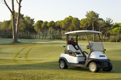Golf course in Turky, Antalya. Stock Photos