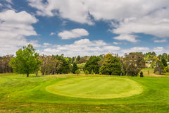 Golf course - Very beautiful field Stock Images