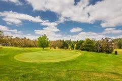 Golf course. Very beautiful field. Stock Photo