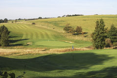 Golf Course. Worthing. West Sussex. England. England. West Sussex. Worthing. Golf course on South Downs Stock Image