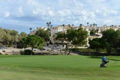 Golf courses in Orihuela Costa Stock Photos