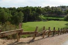 Golf courses in Orihuela Costa Royalty Free Stock Photos