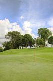 Golf court Royalty Free Stock Image