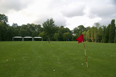 Golf court Royalty Free Stock Images