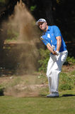 Golf - Craig LEE SCO. Tournament golf photo, approach shot, (Photo 2-2 Royalty Free Stock Images