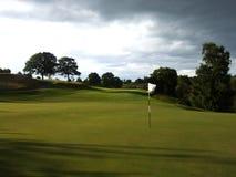 Golf crepuscular fotografía de archivo