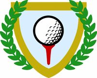 GOLF CREST Stock Images