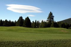 golf cursus Royalty-vrije Stock Afbeelding
