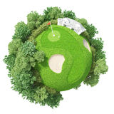 Golf 3D de planète illustration libre de droits