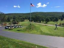 Golf d'heure d'été Photos stock