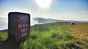 Golf dal mare Immagini Stock Libere da Diritti