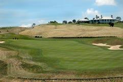Golf - das Klubhaus Lizenzfreies Stockbild