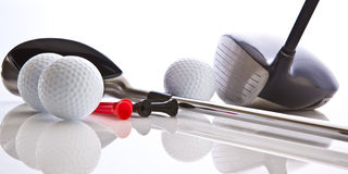 golf de clubs Photos stock