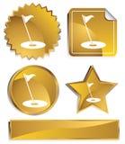 golf de goldish Images libres de droits