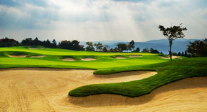Golf de la Chine images libres de droits