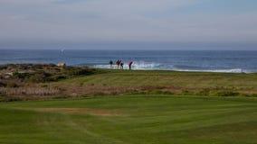 Golf de Pebble Beach, la Californie photographie stock libre de droits