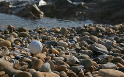 Golf de plage Photo stock