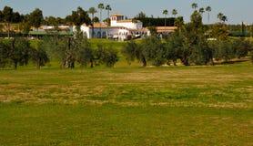 Golf del club de Zaudin Fotografía de archivo libre de regalías
