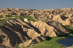 Golf del desierto Foto de archivo libre de regalías
